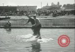 Image of log-rolling championship Port Townsend Washington USA, 1937, second 34 stock footage video 65675062689