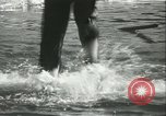 Image of log-rolling championship Port Townsend Washington USA, 1937, second 43 stock footage video 65675062689