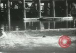 Image of log-rolling championship Port Townsend Washington USA, 1937, second 51 stock footage video 65675062689