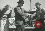Image of log-rolling championship Port Townsend Washington USA, 1937, second 56 stock footage video 65675062689