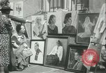 Image of painting exhibition New York City USA, 1937, second 14 stock footage video 65675062690