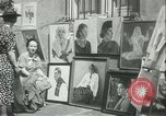 Image of painting exhibition New York City USA, 1937, second 15 stock footage video 65675062690