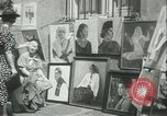Image of painting exhibition New York City USA, 1937, second 16 stock footage video 65675062690