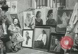 Image of painting exhibition New York City USA, 1937, second 17 stock footage video 65675062690