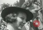 Image of painting exhibition New York City USA, 1937, second 18 stock footage video 65675062690