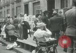 Image of painting exhibition New York City USA, 1937, second 20 stock footage video 65675062690