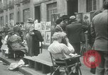 Image of painting exhibition New York City USA, 1937, second 21 stock footage video 65675062690