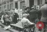 Image of painting exhibition New York City USA, 1937, second 22 stock footage video 65675062690