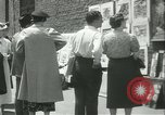 Image of painting exhibition New York City USA, 1937, second 28 stock footage video 65675062690