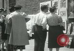 Image of painting exhibition New York City USA, 1937, second 30 stock footage video 65675062690