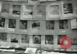 Image of painting exhibition New York City USA, 1937, second 33 stock footage video 65675062690