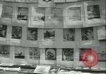 Image of painting exhibition New York City USA, 1937, second 34 stock footage video 65675062690