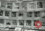 Image of painting exhibition New York City USA, 1937, second 36 stock footage video 65675062690