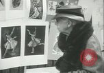 Image of painting exhibition New York City USA, 1937, second 45 stock footage video 65675062690