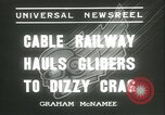 Image of cable railway Germany, 1936, second 2 stock footage video 65675062696