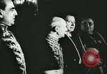 Image of Franco and axis diplomats at German Embassy Madrid Spain, 1942, second 37 stock footage video 65675062700