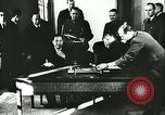 Image of Ambassador Oshima signs pact France, 1942, second 10 stock footage video 65675062702