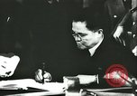 Image of Ambassador Oshima signs pact France, 1942, second 18 stock footage video 65675062702