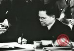 Image of Ambassador Oshima signs pact France, 1942, second 19 stock footage video 65675062702