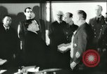 Image of Ambassador Oshima signs pact France, 1942, second 24 stock footage video 65675062702