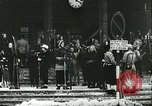 Image of Norwegian civilians board trains for ski trip Oslo Norway, 1942, second 5 stock footage video 65675062703