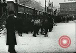 Image of Norwegian civilians board trains for ski trip Oslo Norway, 1942, second 19 stock footage video 65675062703