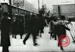 Image of Norwegian civilians board trains for ski trip Oslo Norway, 1942, second 20 stock footage video 65675062703