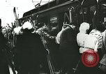 Image of Norwegian civilians board trains for ski trip Oslo Norway, 1942, second 25 stock footage video 65675062703