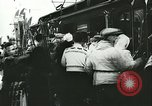 Image of Norwegian civilians board trains for ski trip Oslo Norway, 1942, second 26 stock footage video 65675062703