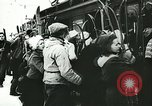 Image of Norwegian civilians board trains for ski trip Oslo Norway, 1942, second 27 stock footage video 65675062703