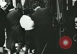 Image of Norwegian civilians board trains for ski trip Oslo Norway, 1942, second 28 stock footage video 65675062703