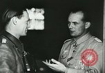 Image of German officials Tunisia North Africa, 1942, second 49 stock footage video 65675062708