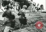 Image of German troops in trenches and foxholes Tunisia North Africa, 1942, second 2 stock footage video 65675062709
