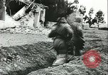 Image of German troops in trenches and foxholes Tunisia North Africa, 1942, second 3 stock footage video 65675062709