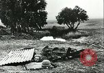 Image of German troops in trenches and foxholes Tunisia North Africa, 1942, second 41 stock footage video 65675062709