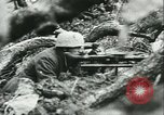 Image of German troops in trenches and foxholes Tunisia North Africa, 1942, second 61 stock footage video 65675062709