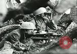 Image of German troops in trenches and foxholes Tunisia North Africa, 1942, second 62 stock footage video 65675062709
