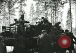 Image of German soldiers Finland, 1942, second 51 stock footage video 65675062712