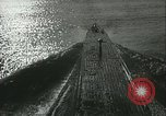 Image of German U-boats returning home Saint Nazaire France, 1942, second 27 stock footage video 65675062713