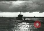 Image of German U-boats returning home Saint Nazaire France, 1942, second 37 stock footage video 65675062713
