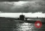 Image of German U-boats returning home Saint Nazaire France, 1942, second 38 stock footage video 65675062713