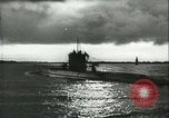 Image of German U-boats returning home Saint Nazaire France, 1942, second 39 stock footage video 65675062713