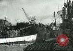 Image of German U-boats returning home Saint Nazaire France, 1942, second 58 stock footage video 65675062713