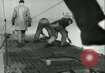 Image of German submarine on patrol Atlantic Ocean, 1942, second 8 stock footage video 65675062714