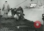 Image of German submarine on patrol Atlantic Ocean, 1942, second 9 stock footage video 65675062714