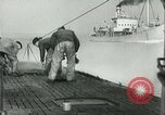 Image of German submarine on patrol Atlantic Ocean, 1942, second 10 stock footage video 65675062714