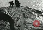 Image of German submarine on patrol Atlantic Ocean, 1942, second 11 stock footage video 65675062714