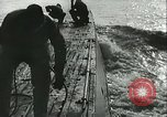Image of German submarine on patrol Atlantic Ocean, 1942, second 13 stock footage video 65675062714
