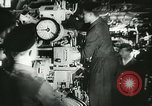 Image of German submarine on patrol Atlantic Ocean, 1942, second 15 stock footage video 65675062714