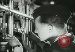 Image of German submarine on patrol Atlantic Ocean, 1942, second 17 stock footage video 65675062714